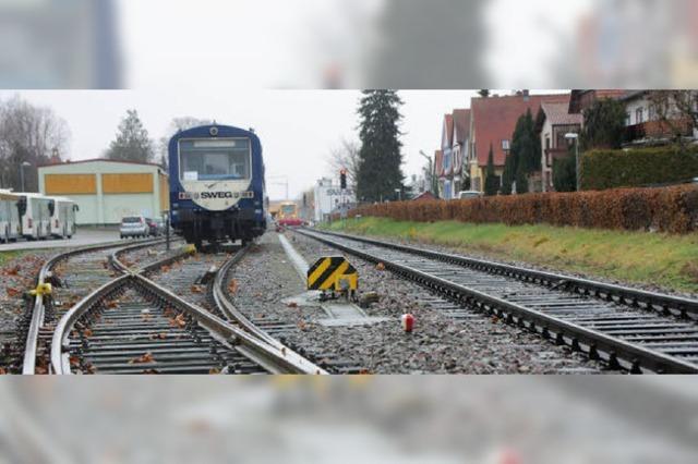 Am 4. Mai wird der Bahnausbau erörtert