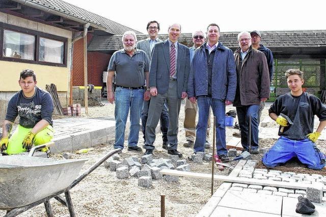 Mehr Platz für Straßenbau-Azubis