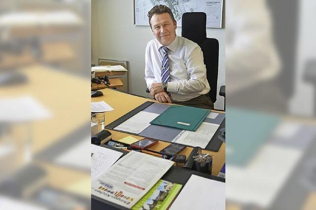 Philipp Schmid geht mit Gemeinderäten, Ortsvorstehern und Amtsleitern in Klausur