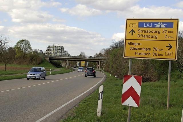 Forderung nach besseren Straßen