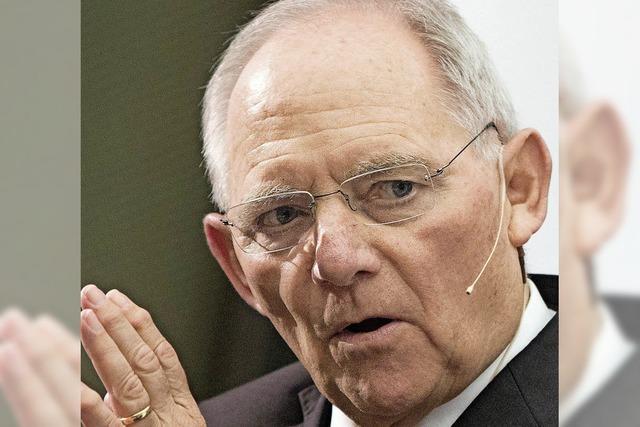 Schäuble ist für EU
