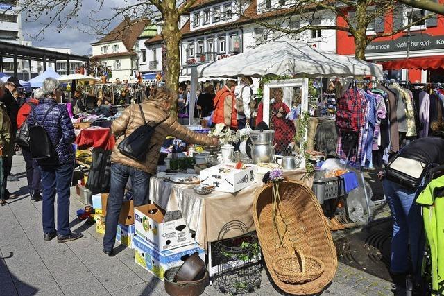 Flohmarktsaison hat begonnen