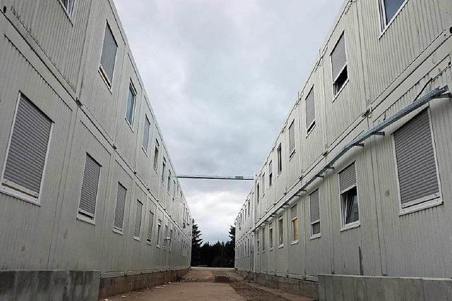 Wie Flüchtlinge in der Lahrer Containersiedlung leben