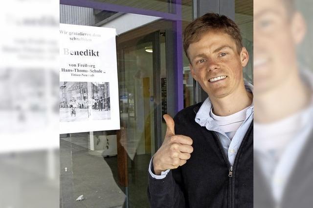 Benedikt Hoffmann, der Marathonmann