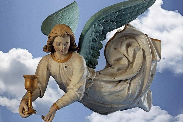 Engel leuchtet wieder in alter Pracht