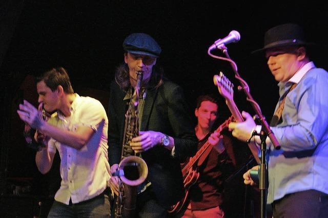 Latvian Blues Band in Oberhof: Gelungenes Blind Date mit lettischer Combo