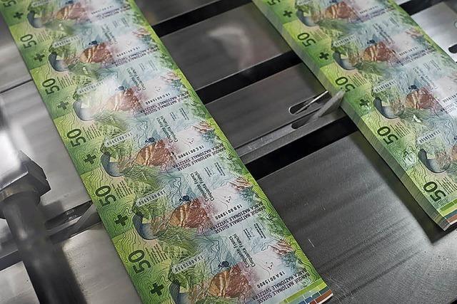 Neue 50-Franken-Note