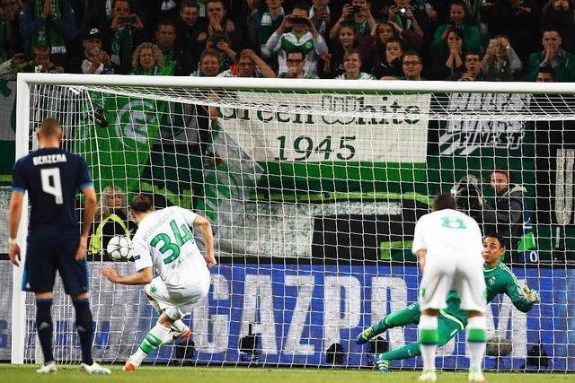 Wolfsburg schlägt Real Madrid: Zwei Tore für die Ewigkeit