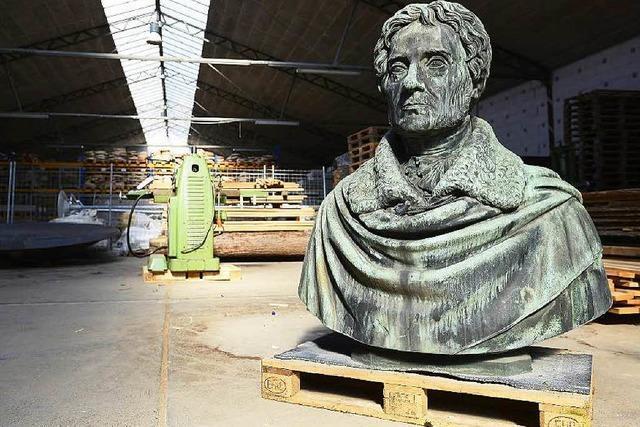 Rotteck-Denkmal darf wohl nicht an seinen angestammten Platz zurück