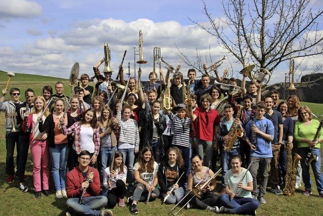 Jugendblasorchester Breisgau in Herbolzheim-Tutschfelden und Emmendingen-Wasser