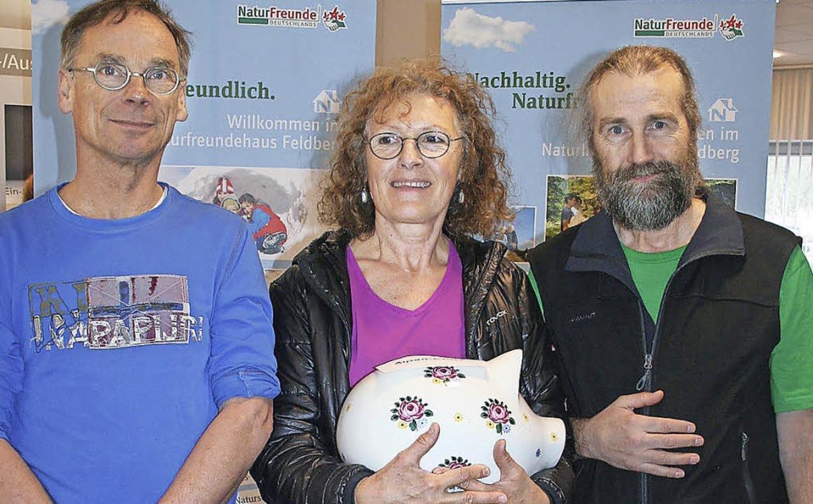Das Naturfreundehaus Feldberg hat für ...pting sowie Hüttenwirt Heinz Blodek.    | Foto: DIETER MAURER