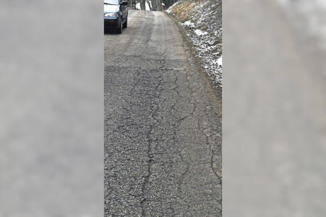 Ortsstraße wird saniert