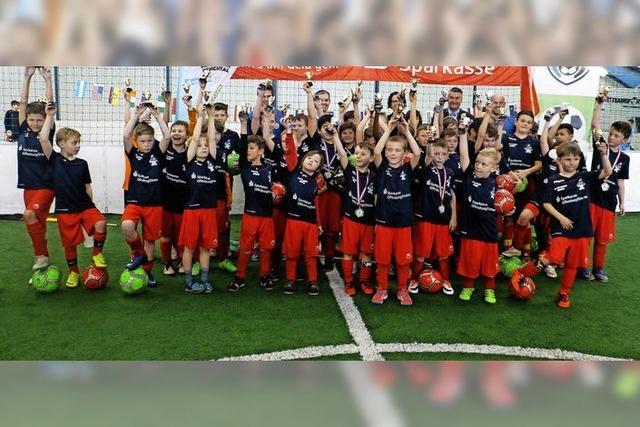 Drei Tage Spaß im SC-Fußballcamp