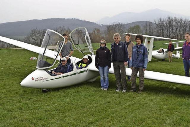 Erste Segelflugstarts in der neuen Flugsaison
