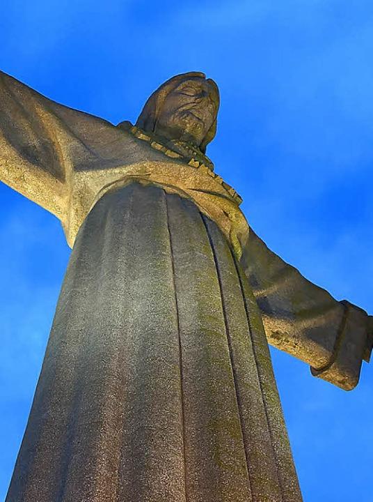 Brasilianisches Vorbild: Cristo Rei  | Foto: Dorothee Soboll