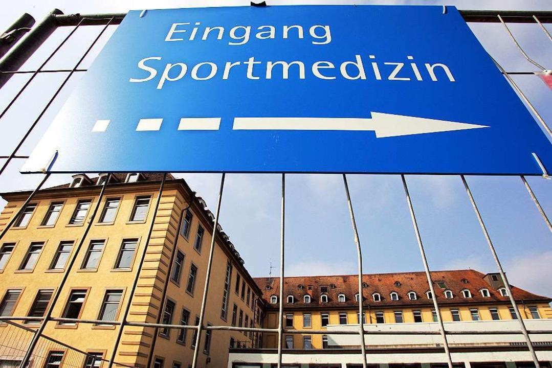 Kommt jetzt langsam Licht ins Dunkel der ehemaligen Freiburger Sportmedizin?    Foto: dpa