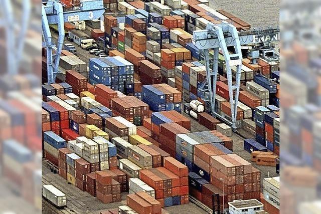 Welthandel legt nur schwach zu