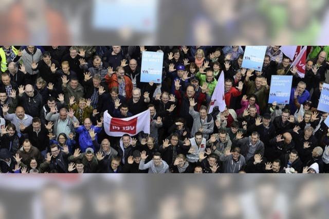 Telekom-Beschäftigte streiken für mehr Lohn