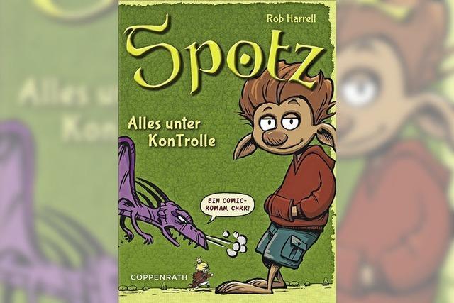 BUCHTIPP: Spotzblitz!