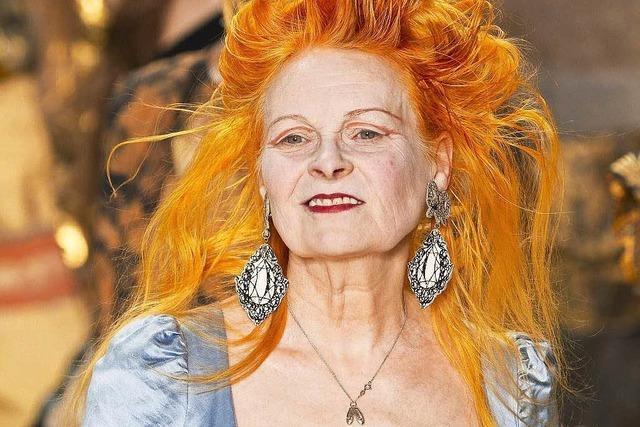 Modeschöpferin Vivienne Westwood wird 75