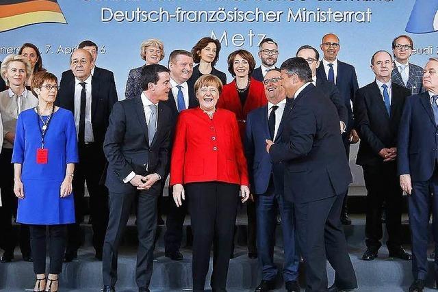 Merkel und Hollande wollen Vorreiter in der EU sein