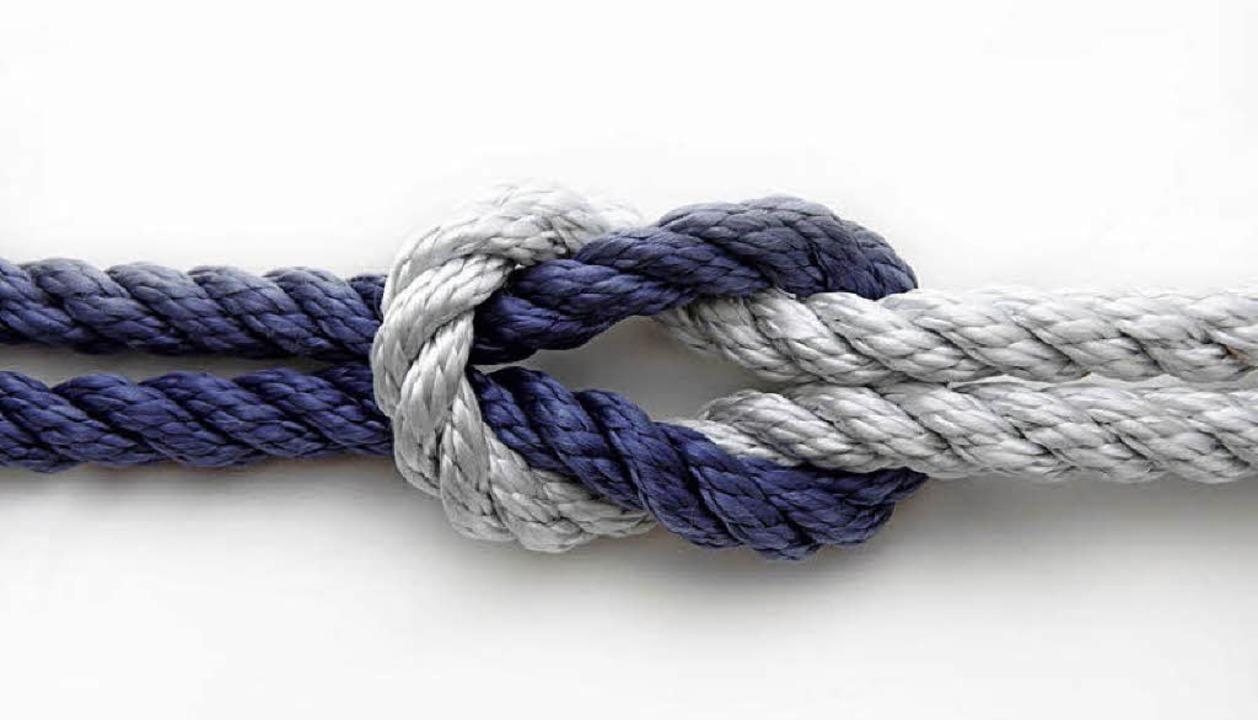 Vertrauen beruht auf Gegenseitigkeit. ...s dann zu stabilen Verbindungen führt.    Foto: Massi Ninni (fotolia.com)