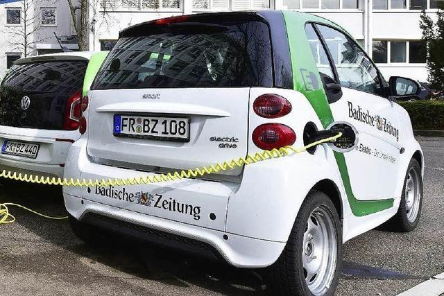 Warum Elektroautos in Freiburg immer noch rar sind