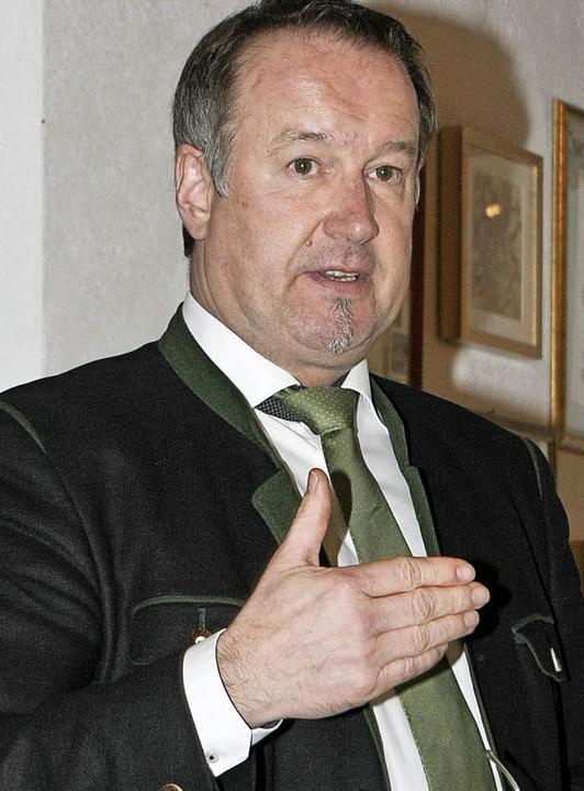 Olaf Kather, Hauptgeschäftsführer des ...hlen und Perspektiven für den Handel.   | Foto: Wendel