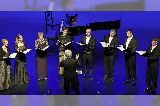 Vokalensemble Corund mit Werken von Johannes Brahms, Heinz Willisegger und Hans Huber in St. Blasien