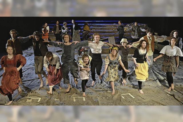 Bochumer Theater Total tritt in Kirchzarten auf