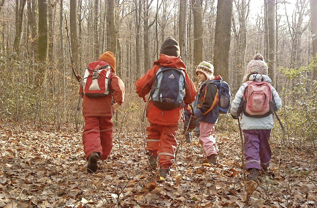 Die Einrichtung eines Waldkindergarten...chlug in Buggingen eine Bürgerin vor.   | Foto: Privat