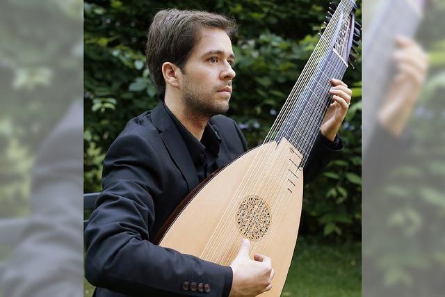 Solist Vinicius Pérez bei den Haltinger St,. Georg-Konzerts