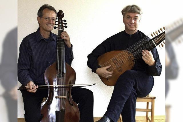Das Arcadia-Ensemble spielt im Museum für Stadtgeschichte Kammermusik des Barock
