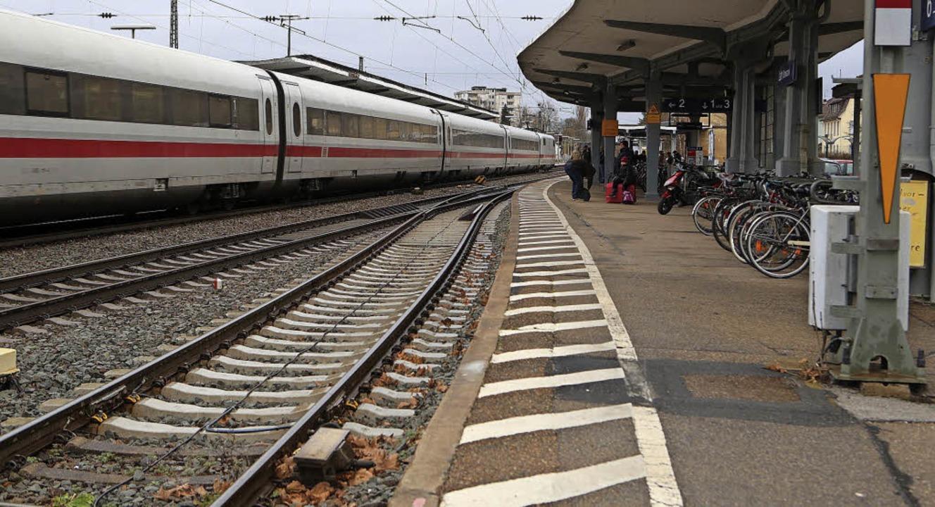 Am  Bahnhof ist alles etwas in die Jah...Alles wird aber auch nicht erneuert.    | Foto: christian  breithaupt
