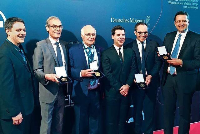 Martin Herrenknecht erhält die Diesel-Medaille
