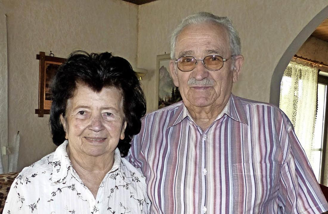 Elisabeth und Arnold Grotz   | Foto: Dieter Fink