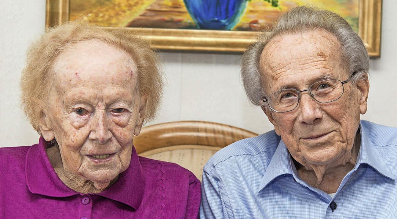 Irmgard und Wolfgang Heizmann   | Foto: Olaf Michel