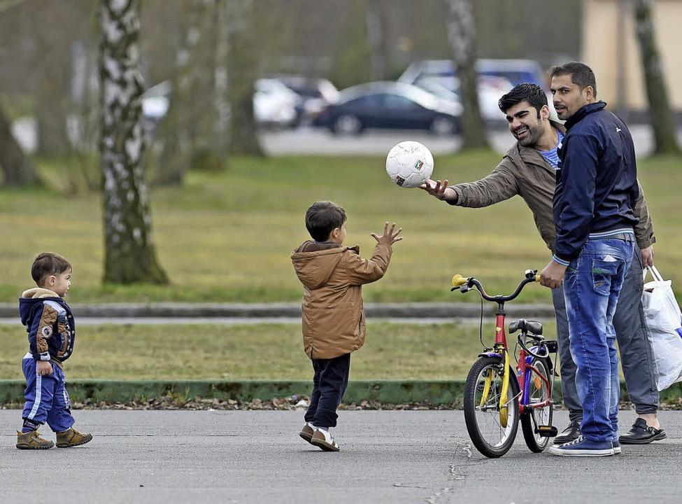 Friedenweiler soll zusätzlich 54 Flüchtlinge aufnehmen.   | Foto: dpa