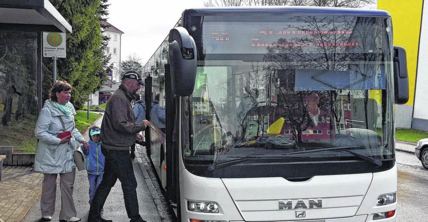 Mit drei Linien soll der Stadtbus  Fah... Probleme des Konzeptes ausgebügelt.    | Foto: Günter Vollmer
