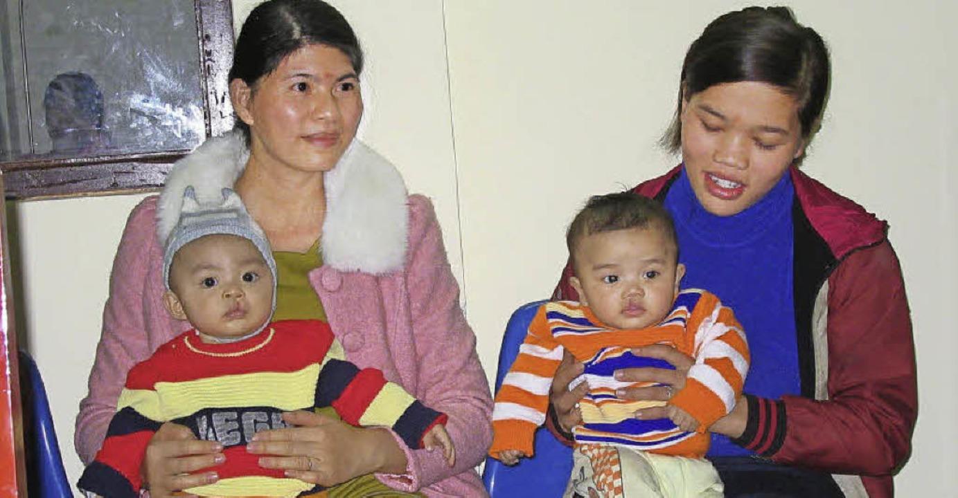 Kleine Patienten im Krankenhaus in Hue  | Foto: privat