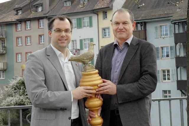 Friedenstaube erreicht Laufenburg