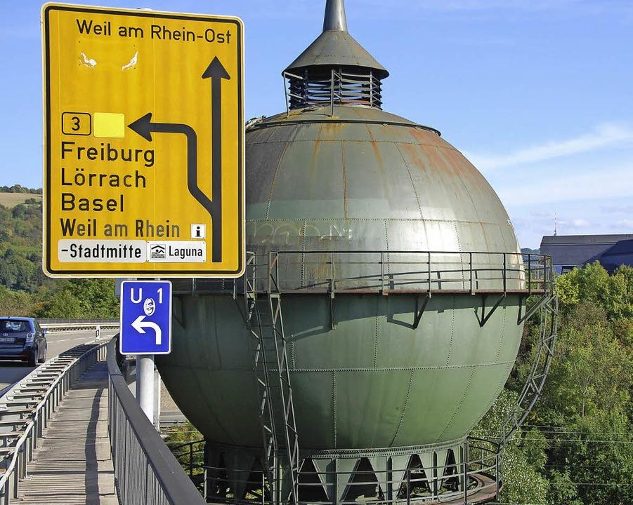 Haltinger Wasserturm   | Foto: Lauber