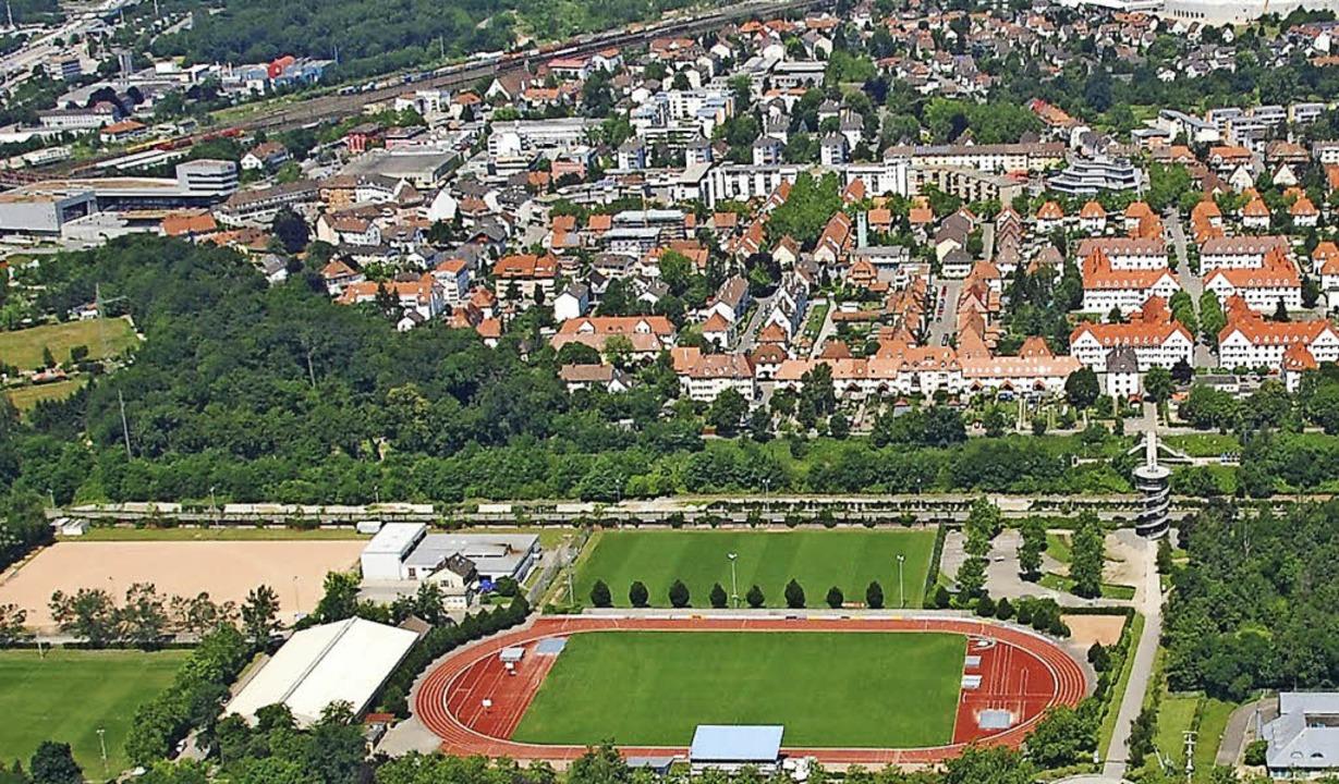 Der  Diskussion über neue Sportstätten...em Konzept eine stabile  Basis geben.     Foto: Lauber