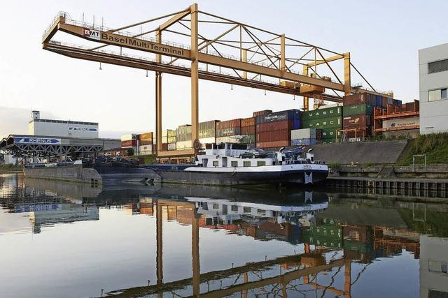 Die Häfen in Basel und Weil am Rhein werden ausgebaut