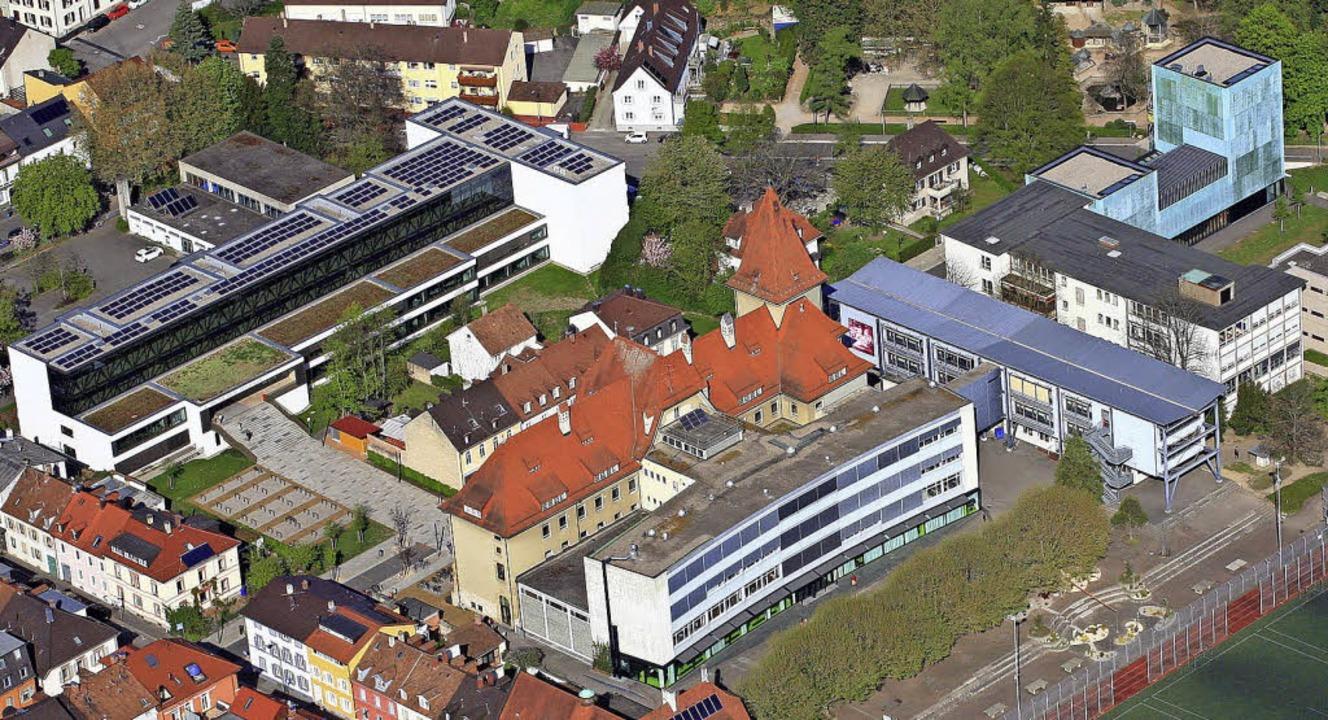 Der Campus Rosenfels erscheint gleich ...n Schulen wie der Platz an der Sonne.     Foto: Erich Meyer