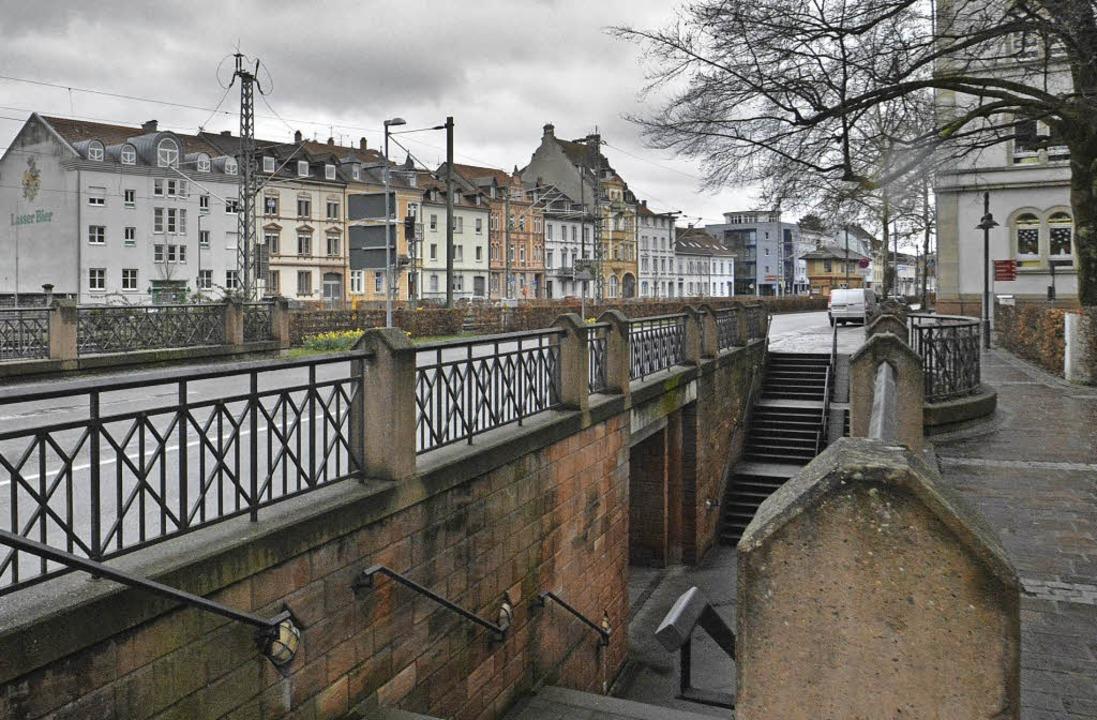 Von der Innenstadt gesehen, erzählen d...traße vom Bürgerstolz der Gründerzeit.    Foto: Barbara Ruda