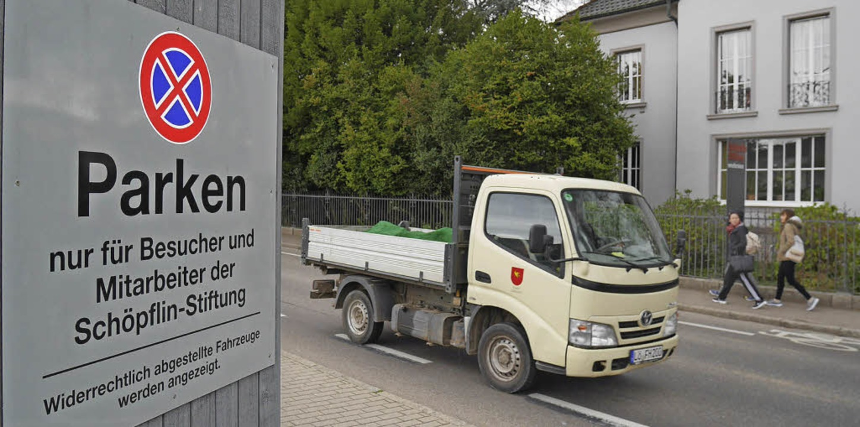Bei der Nutzung der Parkplätze im künf...ung hat dort bereits ihre Parkplätze.     Foto: Nikolaus Trenz