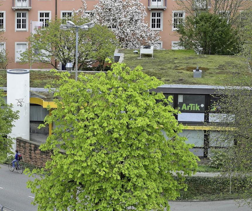 Wie geht's weiter mit dem Artik,...icht ins ehemaligen ADAC-Gebäude soll.  | Foto: Ingo Schneider