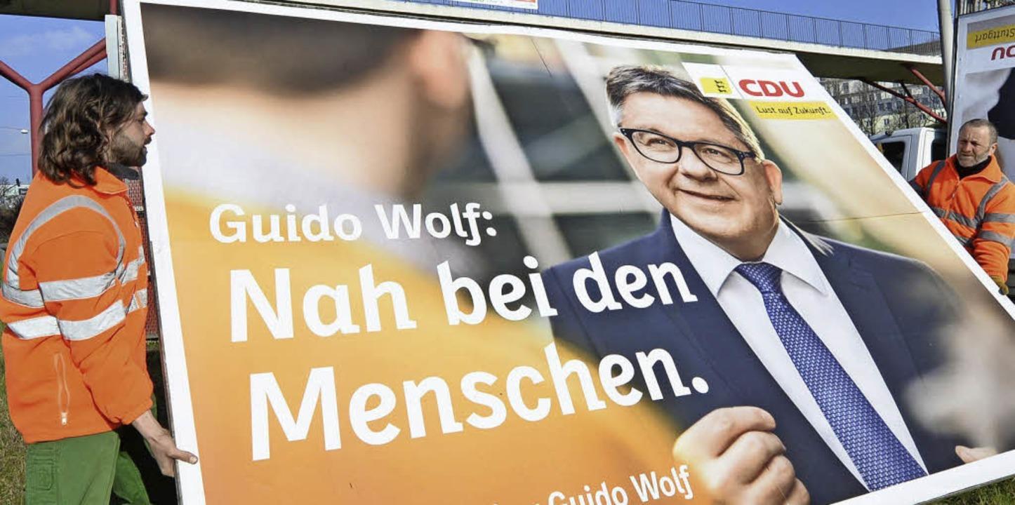 Für Wahlforscher Matthias Jung ist Gui...für die CDU-Schlappe  verantwortlich.     Foto: dpa