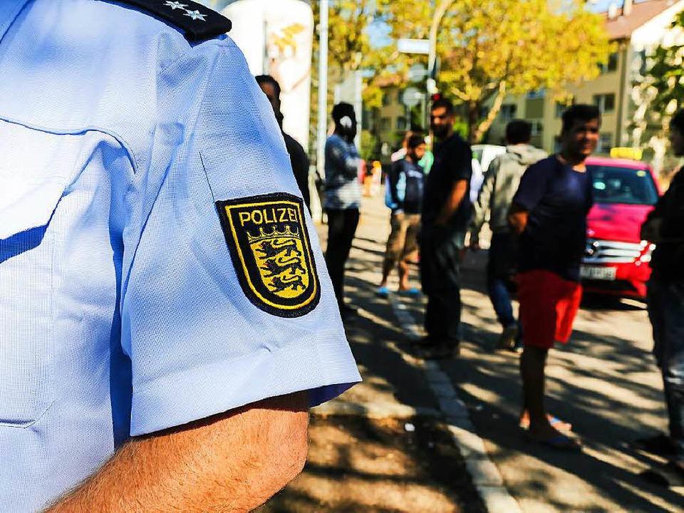 Wer behauptet, dass Flüchtlinge in Fre...rpretiert die Polizeistatistik falsch.  | Foto: Oliver Huber